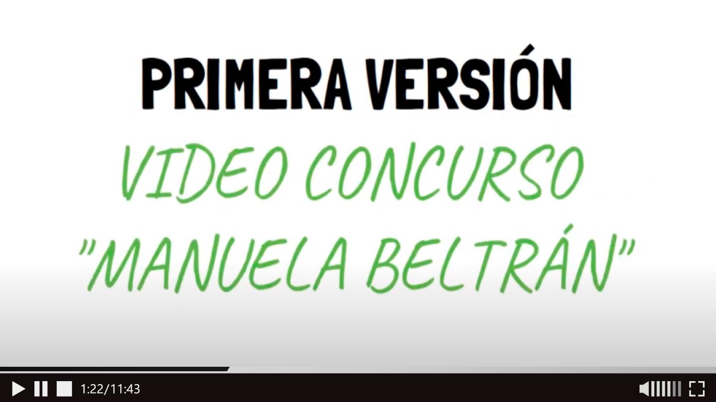 Concurso Manuela Beltrán. Animate y Participa