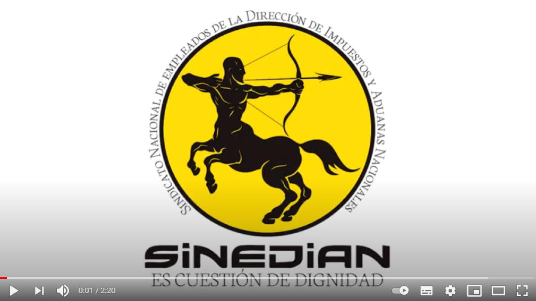 Jornada de protesta en Grandes Contribuyentes de la DIAN - SINEDIAN